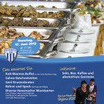Plakat des Sportlerbrunches 2012